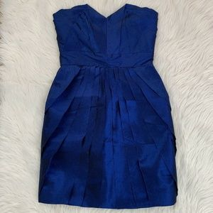 Max and Cleo Kimmi Strapless Dress Electric Blue